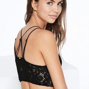 Victoria's Secret Intimates & Sleepwear - VICTORIA SECRET CROCHET LACE BRALETTE